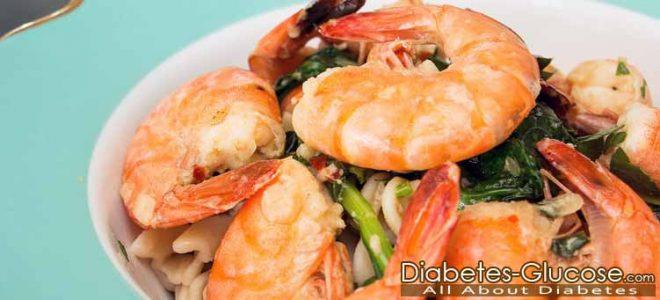 Is shrimp good for type 2 diabetes